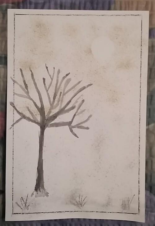 Des cartes d'après les sketchs chez Manou