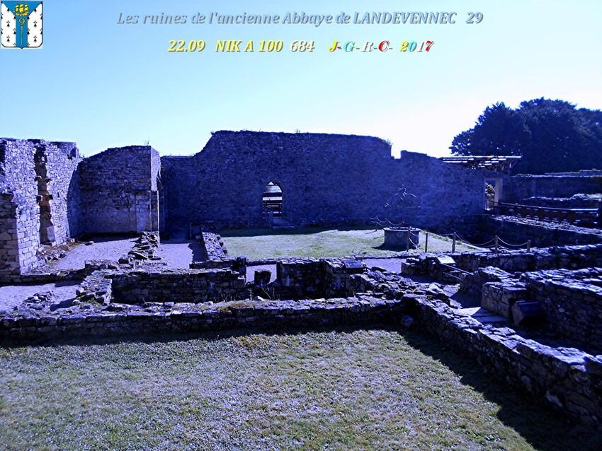 Ancienne  Abbaye  1/4  de  LANDEVENNEC  29      D     18/02/2019