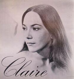 La chanteuse CLAIRE ( année 70 )