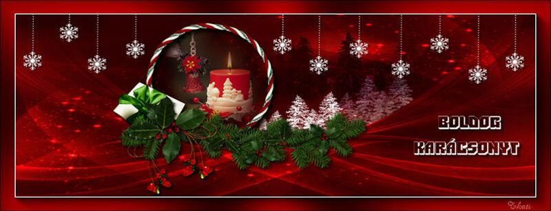 Boldog Karácsonyt - facebook fejléc