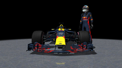 Aston Martin Red Bull Racing - RB14 / Daniel Ricciardo