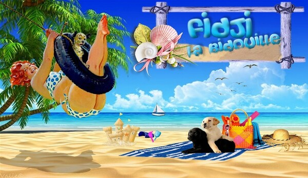 Ma Bannière pour Fidji la Bidouille
