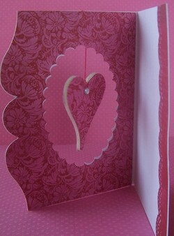 Carte pour la St Valentin 2013