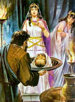 Les reliques de Saint Jean-Baptiste