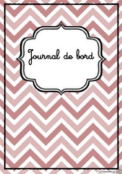 Pages, garde, journal de bors, école, classe, enseignant