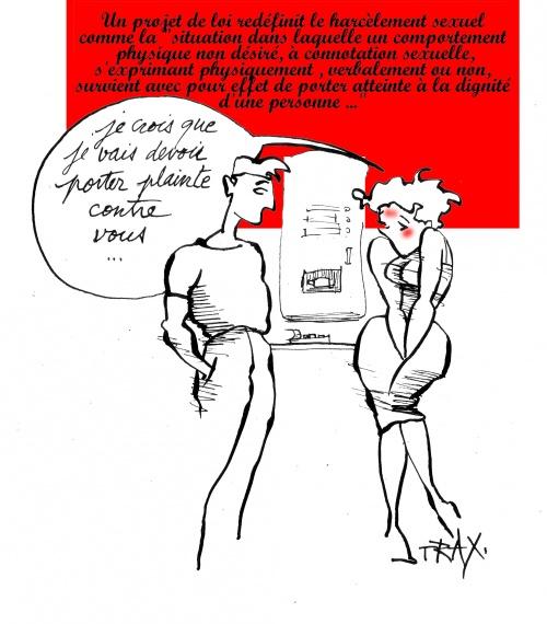 Harcèlement sexuel 2, pas de jaloux (zeu)