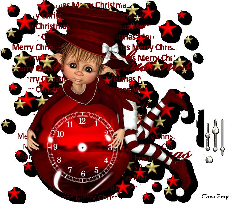 Horloges pour créations flash