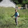 Nettoyage du terrain