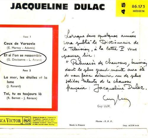 Les  spotbacks  de  Gérard  Doulssane  (  4  )
