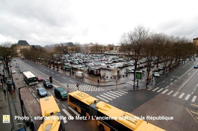La Nouvelle place de la République de Metz 31 Marc de Metz