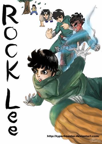 Rock Lee (Gifs)