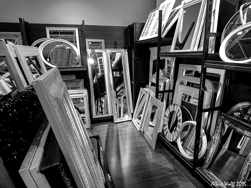 Miroirs ... et c'est tout