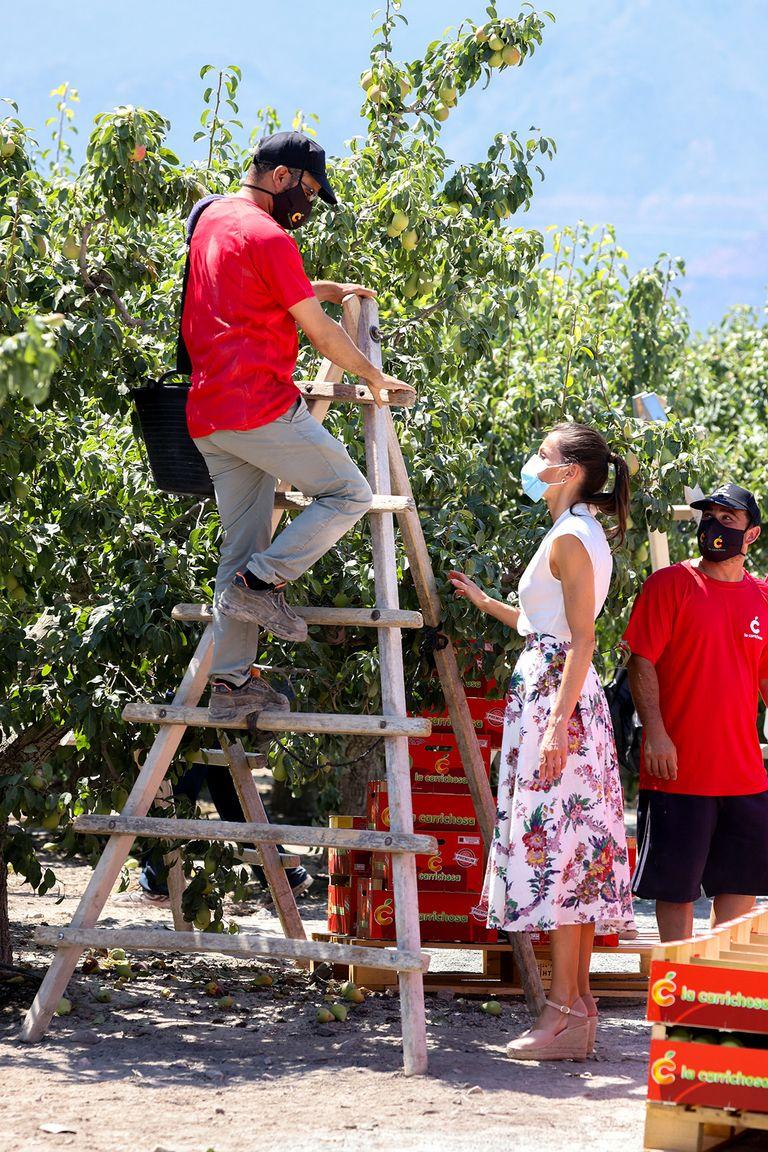 Felipe et Letizia visitent Murcia