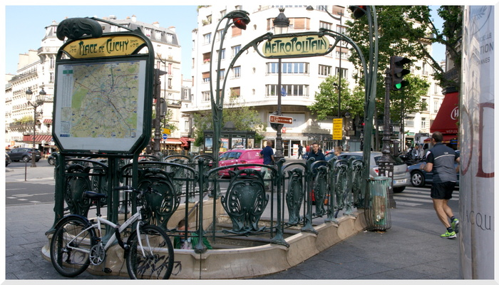 Place de Clichy. Paris