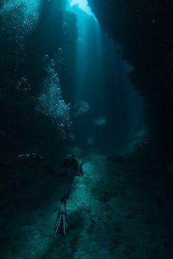 Ambiance dans les canyons de Hienghène