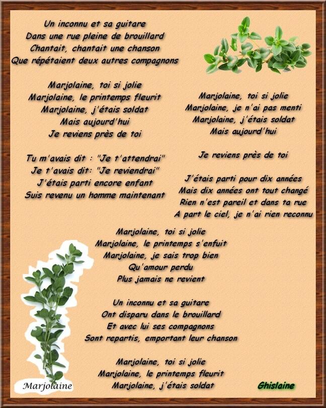 La chanson de Francis Lemarque.