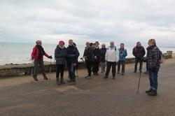 La randonnée du 8 mars à Lion-sur-Mer