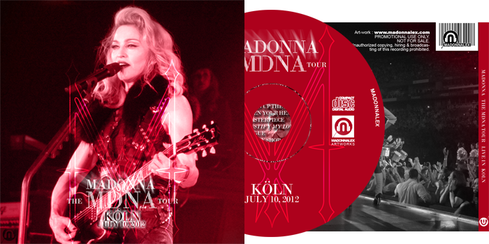 The MDNA Tour - Full Audio Koln