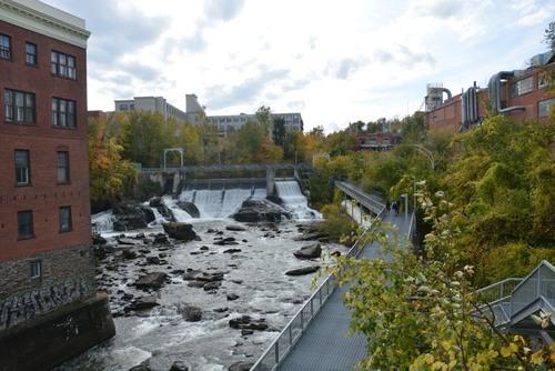 Sherbrooke gorges de la rivière Magog