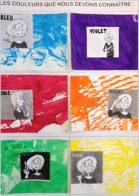 Peinture, traces et collages