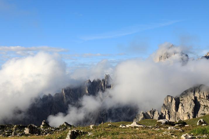 Trek dans les Dolomites, les Tre Cime