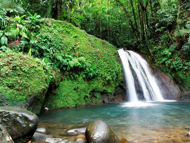 Les cascades de Guadeloupe