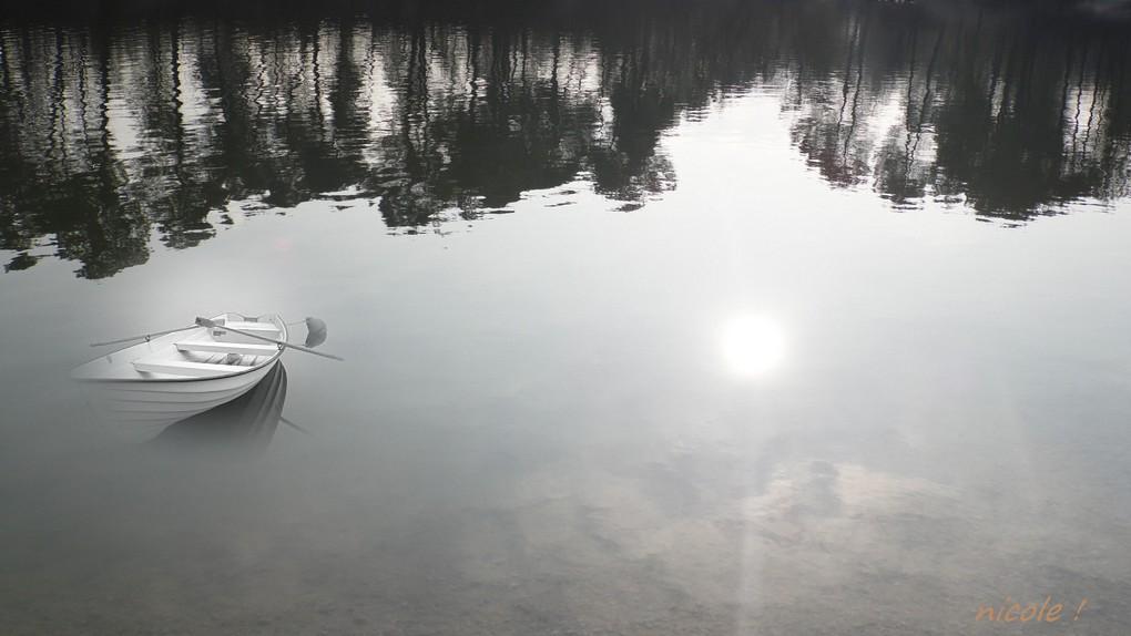 """Fantaisies au """"lac bleu"""" ..."""