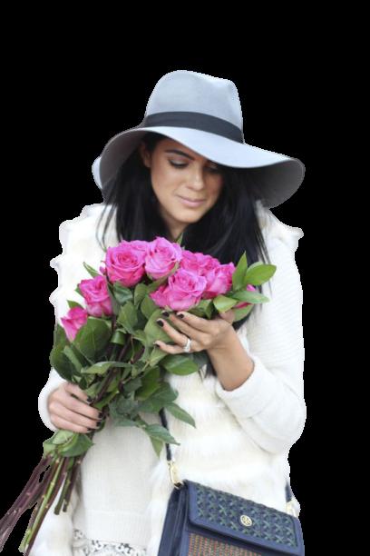 Tubes femmes fleurs création 17