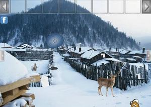 Jouer à North Pole forest escape