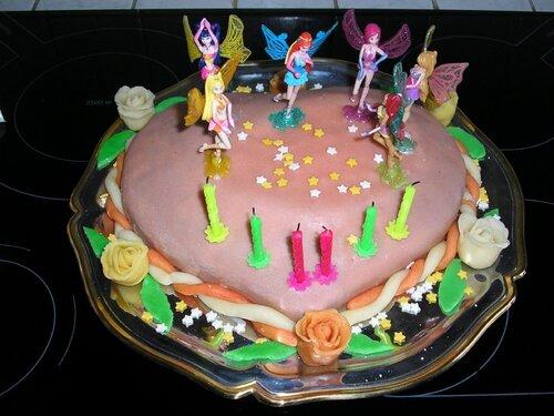 Gâteaux réalisés pour l'anniversaire de mes filles