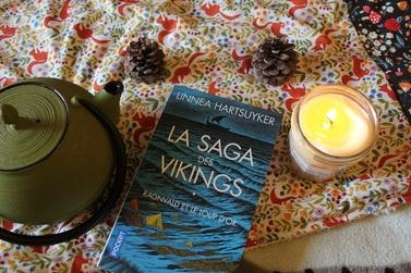 La Saga des Vikings, tome 1, Ragnvald et le Loup d'Or ; Linnea Hartsuyker