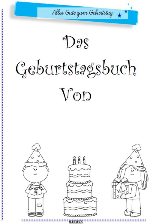 Geburtstagsbuch 2017