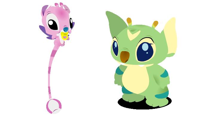 La famille Lilo et Stitch