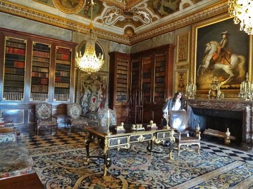 Visite du château de Vaux le Vicomte , avec les Amis du Musée du Pays Châtillonnais...