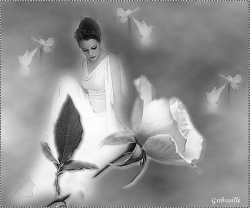 Défi femmes en noir et blanc