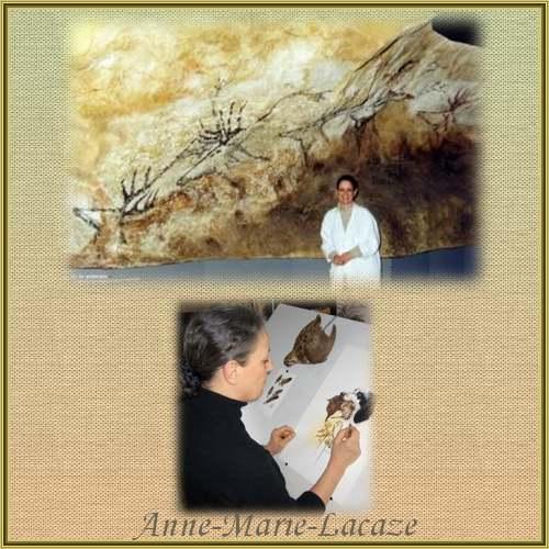 Peinture d'Anne-Marie-Lacaze