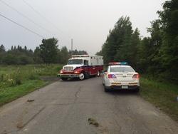 Deux accidents de la route à Lac-Drolet