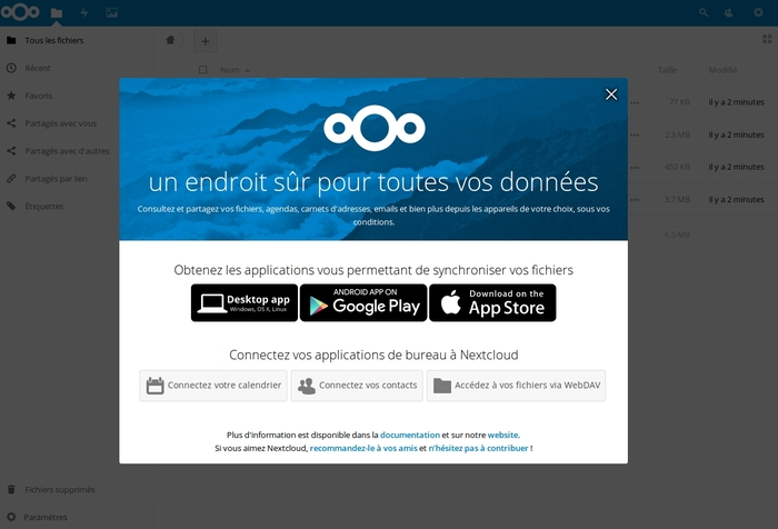 Installer Nextcloud sur Debian 9