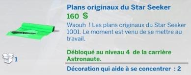 Plans originaux du Star Seeker