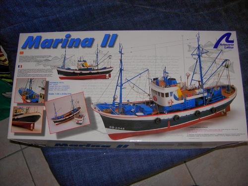 Réalisation de la maquette du Marina II