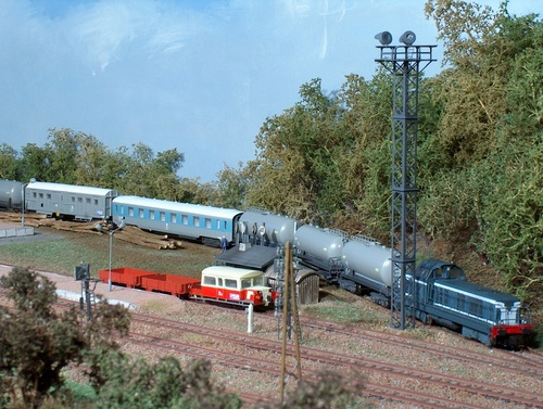 Le TDGR stationne à Ennecourt