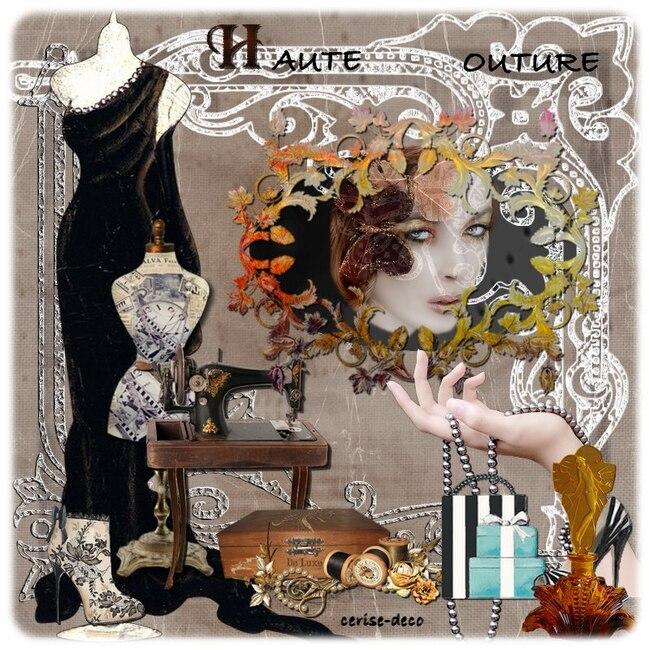 cadeau en gif : cluster haute couture
