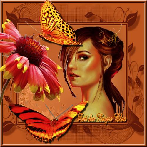 créa perso  Défi papillons 2