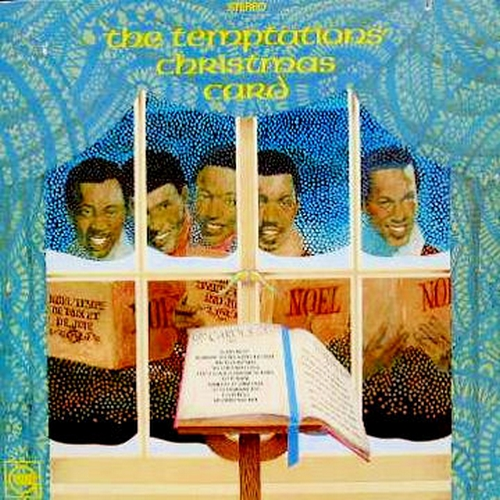 "The Temptations : Album "" The Temptations' Christmas Card "" Gordy Records GS 951 [ US ]"