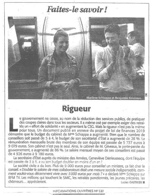 Rigueur (IO n°530 22/11/18)
