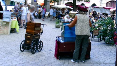 Dans les rues de saint Antonin de Nobleval