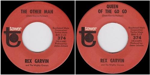 REX GARVIN COMPLETE SINGLES
