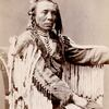 Chief Old Crow. Crow. 1880. Photo by C.M. Bell. Source -Yale Collection of Western Americana, Beinec