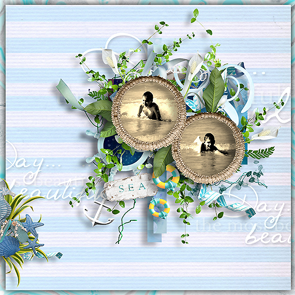 "kit"" blue pacific"" de angels designs"