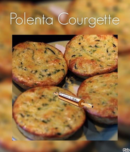 Palets de polenta / courgette